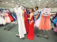 Glamour Gowns gives clothing to foster youth