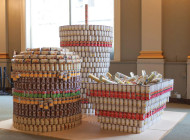 'Canstruction' exhibit to debut at downtown art walk
