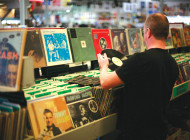 Vinyl is back in style for Record Store Day
