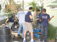 Loyola celebrates 150 years with citywide day of service
