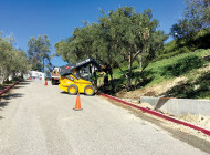 Crews begin work on Barnsdall Park