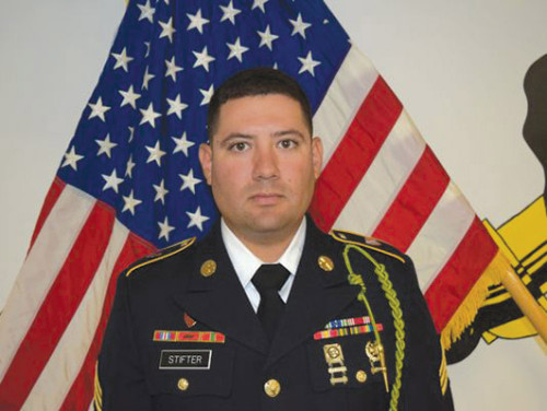 U.S. Army Sgt. Joseph Stifter was killed in a vehicle accident while serving in Iraq.