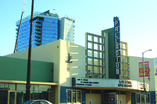 The Los Angeles PLUM Committee recommended approval of the project that would bring two towers around the music venue on Sunset Boulevard. (photo by Gregory Cornfield)