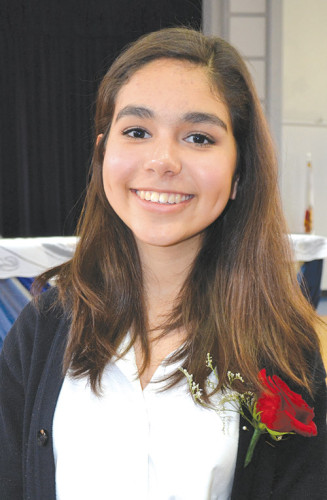 Immaculate Heart High School junior Ysabel Diaz. (photo courtesy of Immaculate Heart High School)