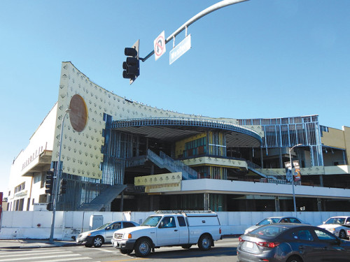 The Los Angeles City Council is considering steps that could allow the Target project at Sunset Boulevard and Western Avenue to resume. (photo by Edwin Folven)
