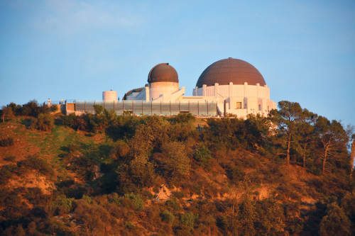 Metered parking at Griffith Observatory could be installed in the new plan. (photo by Patricia Sanchez)
