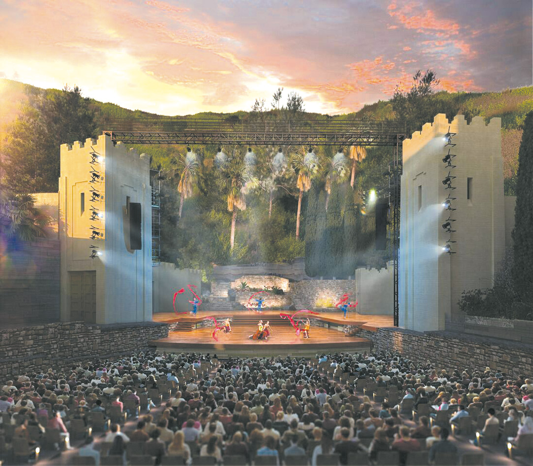 the ford amphitheatre which is undergoing a two year renovation is. Cars Review. Best American Auto & Cars Review