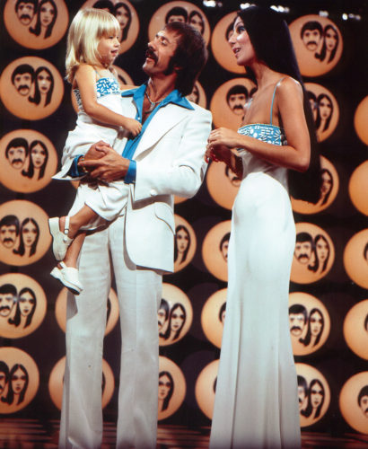 Sonny and Cher filmed their popular show at CBS Television City, as seen in this photo from 1974. (photo courtesy of CBS TV City)