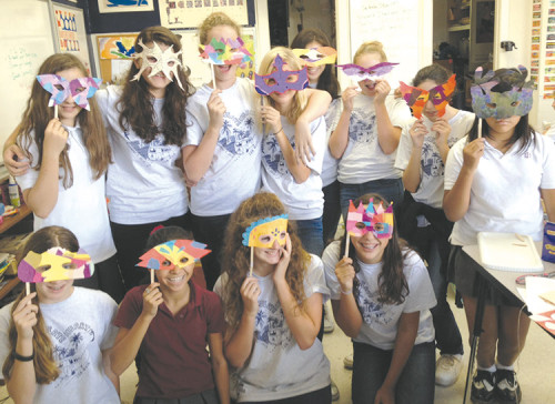 Girls entering the 4th through 8th grades can tap their creative interests in Immaculate Heart summer art classes, including theater workshops (pictured) and cooking. (photo courtesy of Immaculate Heart)