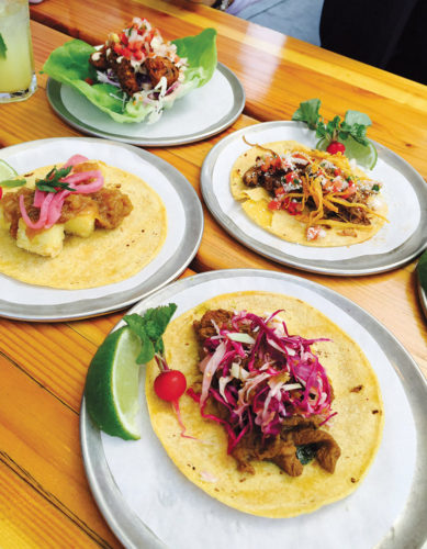 Try one of Trejo's tacos – they're terrific. (photo by Jill Weinlein)