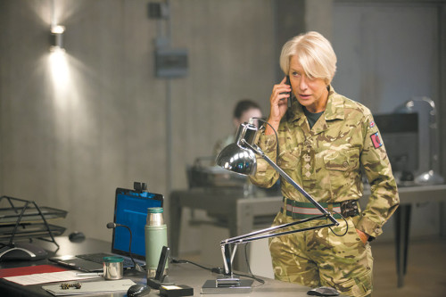 "Helen Mirren stars as Col. Katherine Powell in the new military thriller ""Eye in the Sky."" (photo courtesy of Entertainment One)"