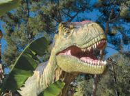 Zoo takes visitors back in time  to the world of the dinosaurs