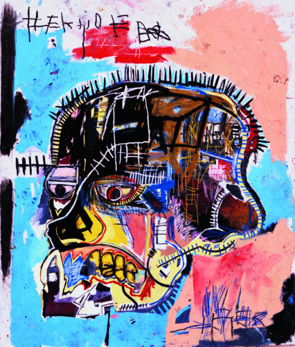 """Skull"" by Jean-Michel Basquiat"