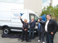 Van donation helps feed people with critical illnesses