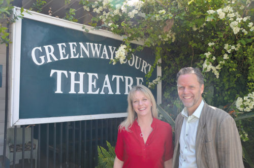Whitney Weston and Pierson Blaetz oversee the Greenway Arts Alliance, which supports programs at Fairfax High School. (photo courtesy of Whitney Weston)