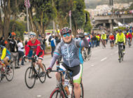 AIDS LifeCycle pedals through WeHo