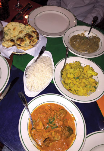 electric karma indian food with la style park labrea