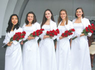 Immaculate Heart graduates celebrate before moving on to college
