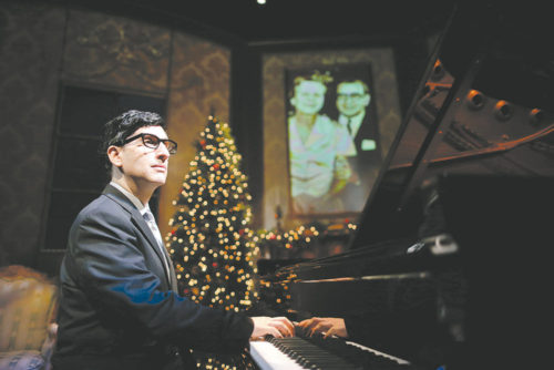 Hershey Felder plays Irving Berlin at the Pasadena Playhouse, starting tonight through Aug. 7. (photo courtesy of Eighty Eight Entertainment)