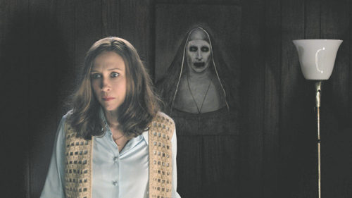 "Vera Farmiga stars as clairvoyant Lorraine Warren in the ""The Conjuring 2,"" a new film by director James Wan. (photo courtesy of Warner Bros. Pictures)"