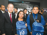 United Nations Association donates school supplies to children in need