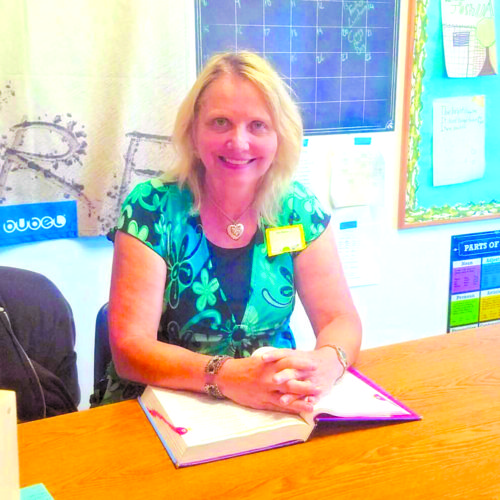 photo courtesy of Page Academy New principal Patricia Klindworth is looking forward to welcoming students this fall.