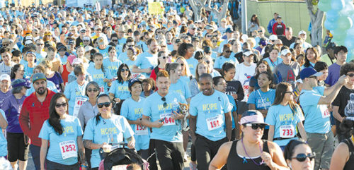 "Thousands of people participated in the ""Alive & Running Walk/Run for Suicide Prevention. (photo courtesy of Didi Hirsch Mental Health Services)"