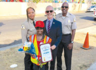 Crossing guard honored for preventing kidnapping