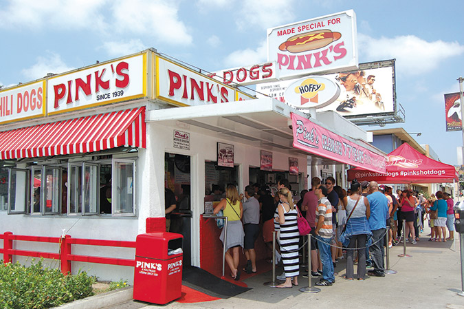 Pinks Hot Dogs Celebrates 77 Years With Chili Dogs For 77 -4570