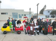 HollywoodDivision distributes toys to children in need