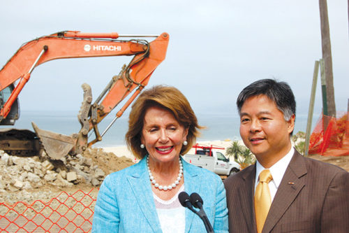 Congresswoman Nancy Pelosi and Congressman Ted Lieu are among the federal representatives from California challenging President-elect Donald Trump on his cabinet selections. (photo by Gregory Cornfield)