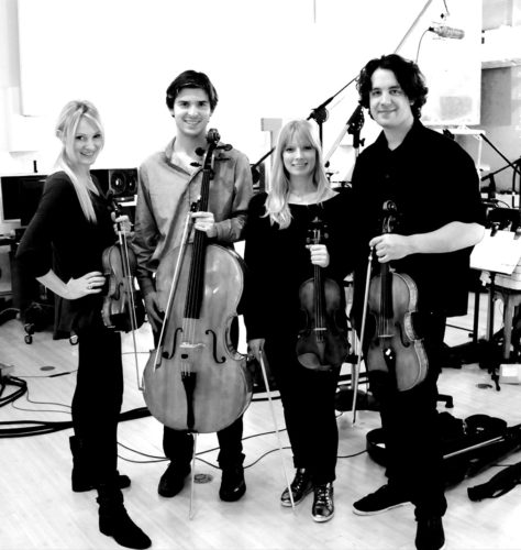 California String Quartet (photo courtesy of the city of West Hollywood)