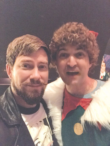 Zach Neil, co-owner and co-founder of Stay Classy with Buddy the Elf. (photo courtesy of Stay Classy)