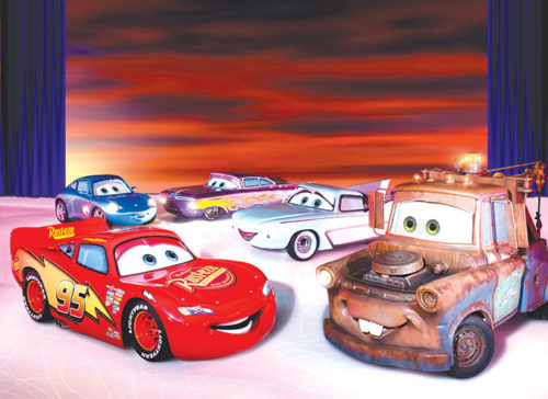 Characters from the movie Cars will be on display. (photo courtesy of Jennifer Becker)