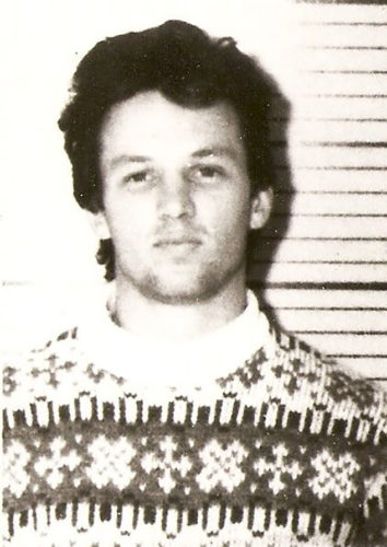 Chris Boyce's mug shot for after he was arrested on Jan. 17, 1977.