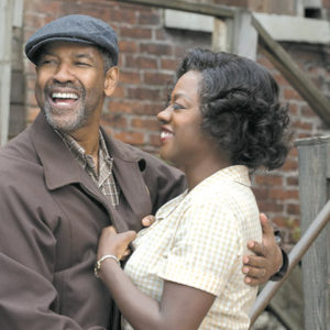 "Denzel Washington and Viola Davis give compelling performances in ""Fences."" (photo courtesy of Paramount Pictures)"