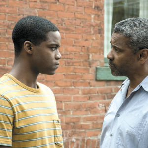 "Jovan Adepo portrays Cory, Troy Maxson's (Denzel Washington) son in ""Fences,"" a film adaptation of a play by August Wilson. (photo courtesy of Paramount Pictures)"