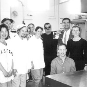 George Michael donated money and volunteered with Project Angel Food.