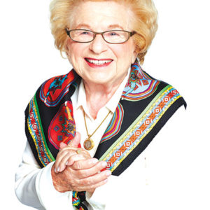 Ruth Westheimer will attend the annual Sexual Health Expo for the first time. (photo courtesy of Amazon Publishing)