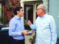 District 5 candidates race door-to-door
