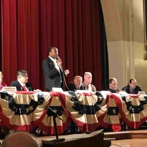 Nine mayoral candidates participated in two forums on Feb. 15.