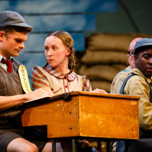 """946"" tells the story of the relationship between English villagers and American GIs. (photo by Steve Tanner)"