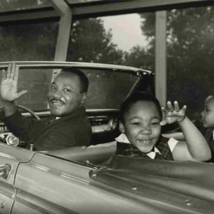 This photo of Martin Luther King, Jr. is from the collections of The Henry Ford. (photo courtesy of Ford Motor Company)