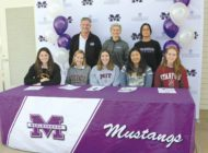 Students sign with college athletics programs