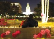 Grand Park prepares for  Valentine's Day celebration