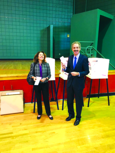 City Attorney Mike Feuer and his wife Gail make sure he keeps his job. (photo courtesy of Mike Feuer)