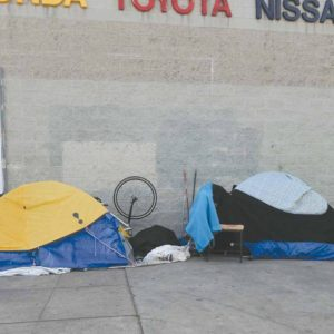 Funding raised through the sales tax increase authorized under Measure H will be used for sevices intended to keep homeless individuals in housing and on a path to a better future. (photo by Edwin Folven)