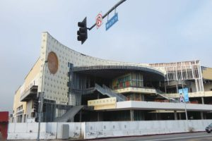 The Target store in Hollywood remains unfinished pending a court ruling on a lawsuit against the project. (photo by Edwin Folven)