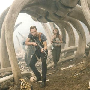 "Tom Hiddleston and Brie Larson star in ""Kong: Skull Island,"" the latest cinematic adventure featuring the giant gorilla. (photo courtesy of Warner Bros. Pictures)"