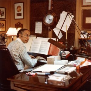Mancini's music has been prominently featured in film and television for nearly half a century. (photo courtesy of the Wallis Annenberg Center for the Performing Arts)